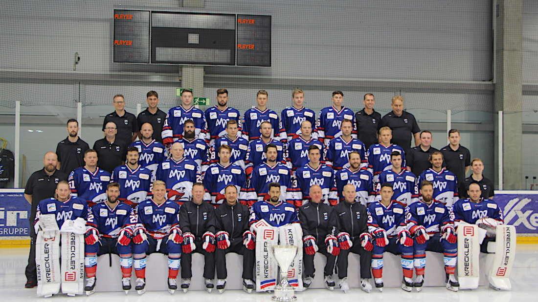 Die Adler Mannheim 2019/20.