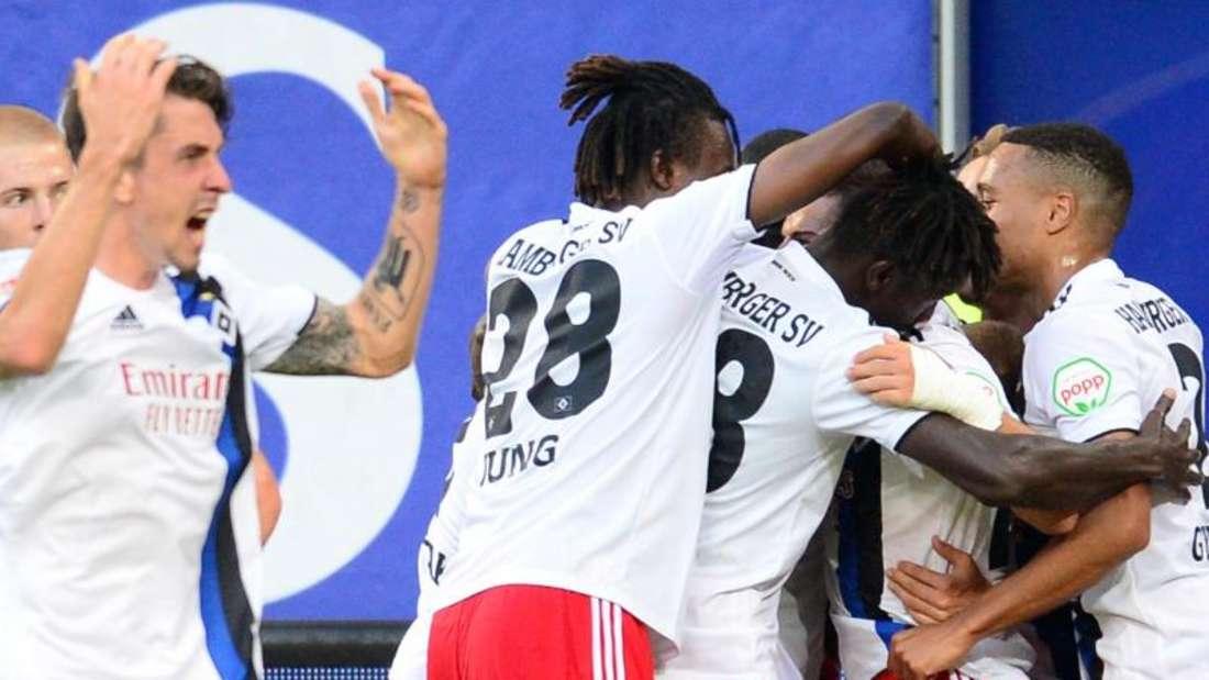 Die Hamburger eroberten mit einem Sieg gegen den VfL Bochum die Tabellenspitze. Foto: Daniel Bockwoldt