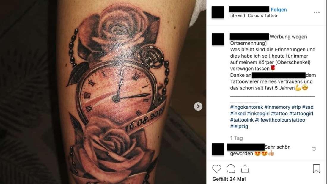Geht dieser Fan mit dem Todes-Tattoo zu weit?