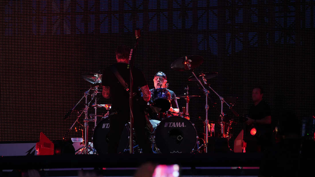 Metallica rocken die Quadratestadt - das sind die Fotos vom MEGA-Konzert vor 60.000 Zuschauern auf dem Maimarktgelände (25. August 2019).