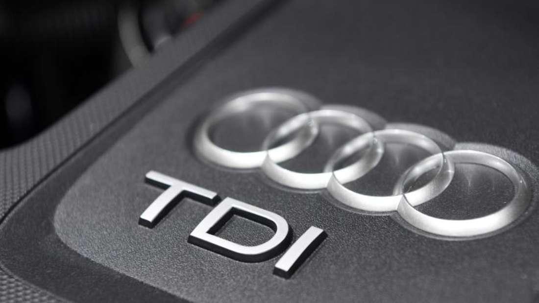 Dieselmotor eines Audi Q5 2.0 TDI Quattro. Foto: Uli Deck