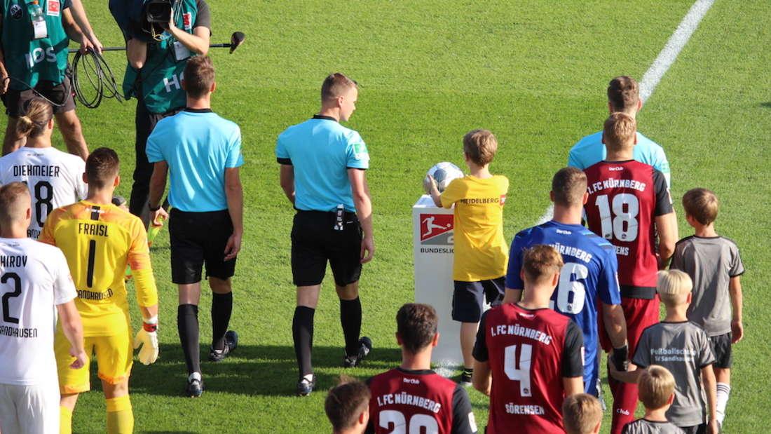 Gewinnspiel für SVS-Heimspiel gegen Bochum: Einlaufkind gesucht!