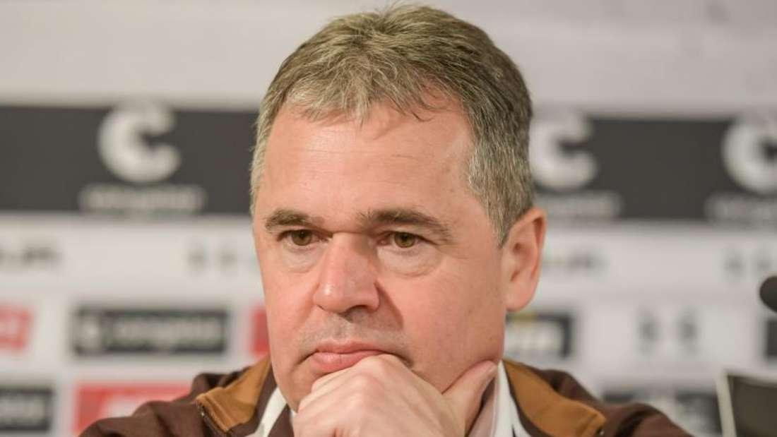 Pauli-Manager Andreas Rettig fordert von den Clubs in deutlich gesteigertes Umweltbewusstsein. Foto: Axel Heimken