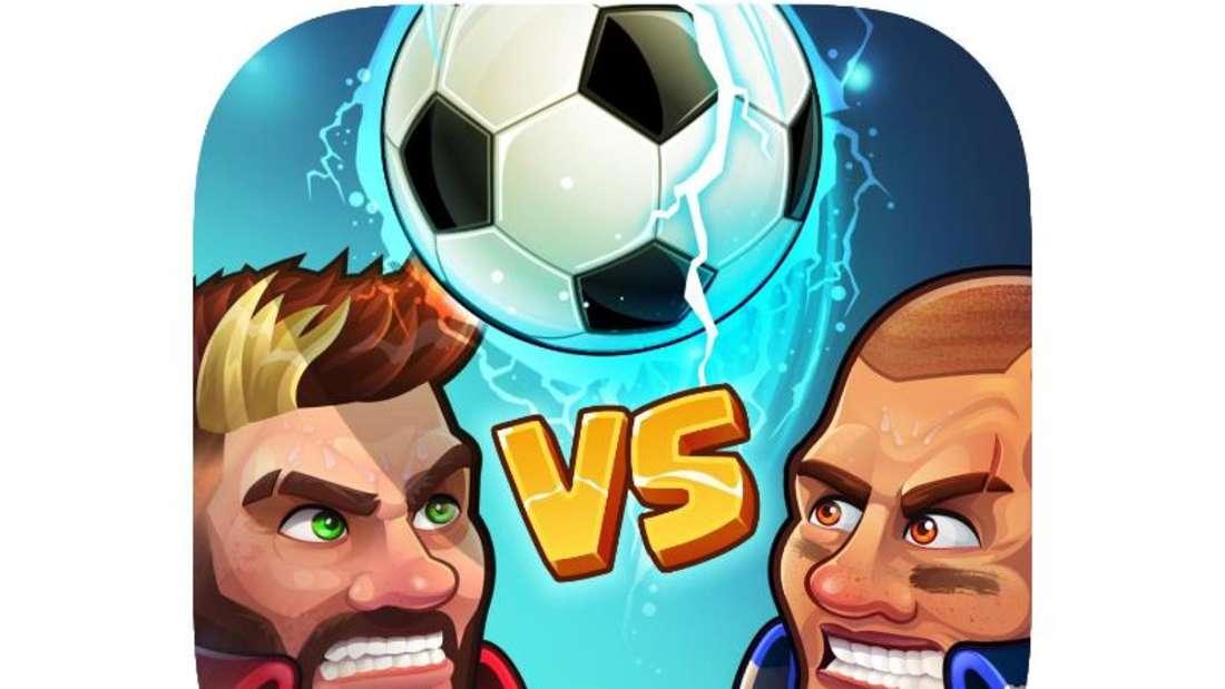 «Head Ball 2» gibt iOS-Nutzern die Möglichkeit, gegen andere Fußball zu spielen und dabei bis zu 18 Superkräfte freizuschalten. Foto: App Store von Apple/dpa-infocom