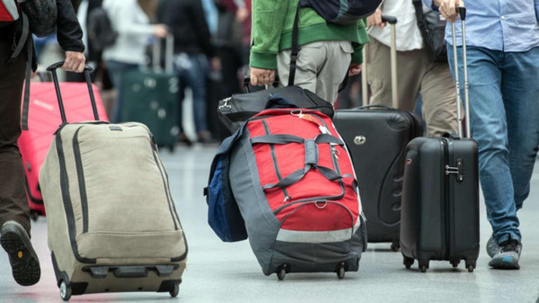 Urlauber sind jedes Mal heilfroh, wenn das Gepäck gut ankommt.