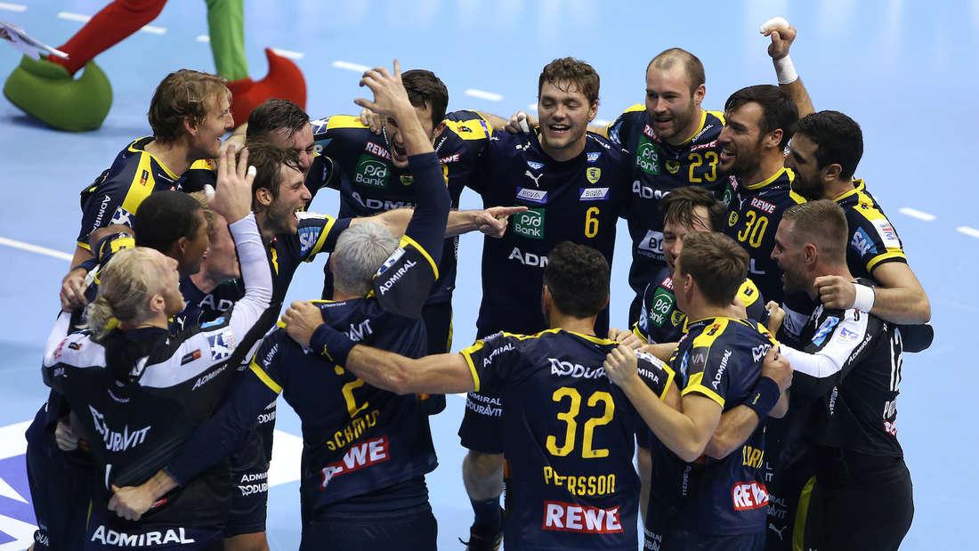 Die Rhein-Neckar Löwen gewinnen das Topspiel gegen den SC Magdeburg.