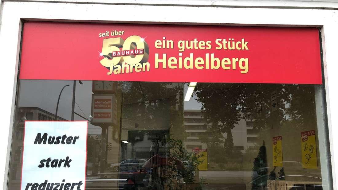 Nach über 50 Jahren schließt das Bauhaus in der Kurfürsten-Anlage.