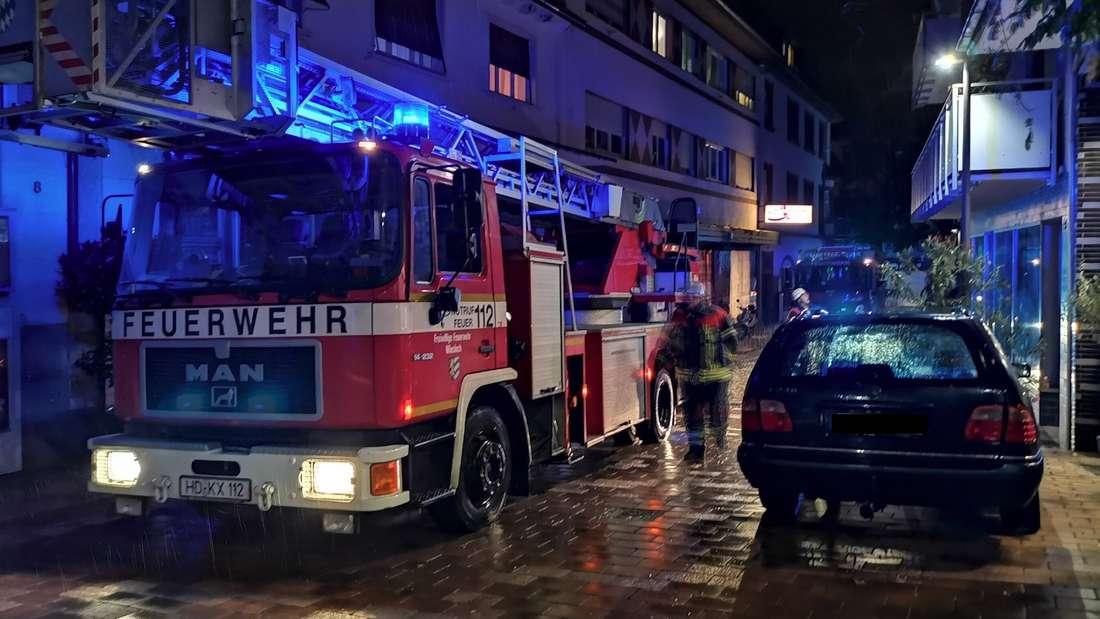Brand in Wiesloch.