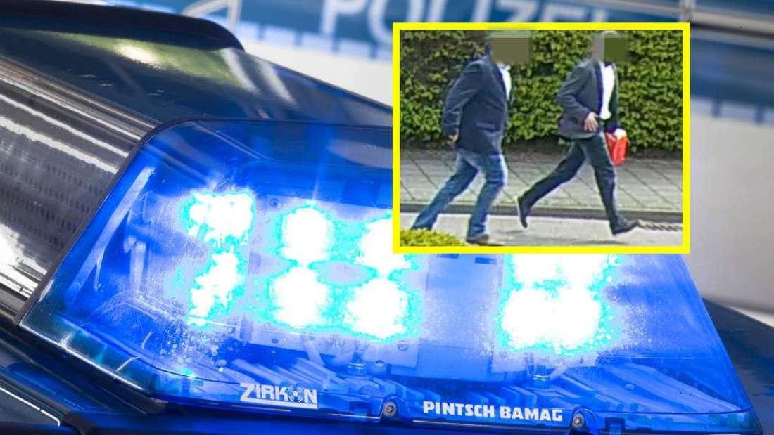 Polizei Karlsruhe fahndet mit diesem Foto monatelang nach Räuberduo.