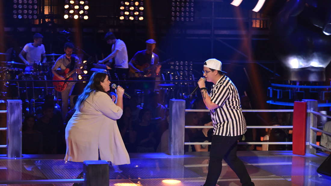 """""""The Voice of Germany"""": Judith vs. Marie"""