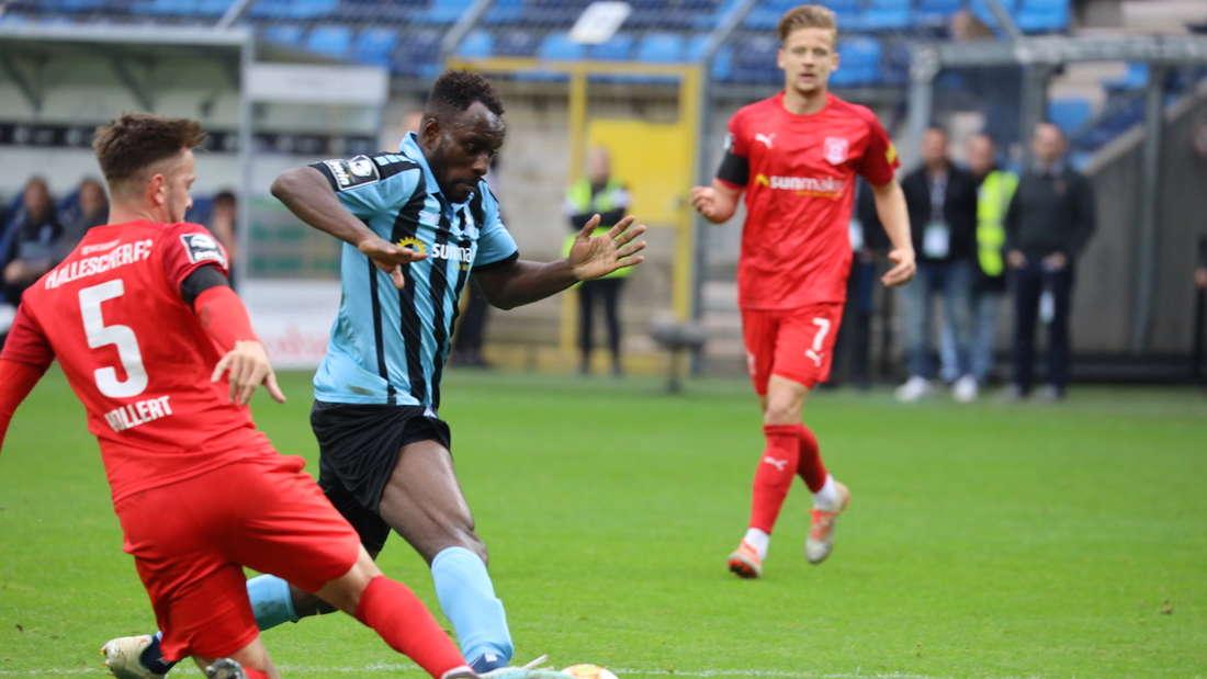 SV Waldhof Mannheim - Hallescher FC 0:4 (0:2)
