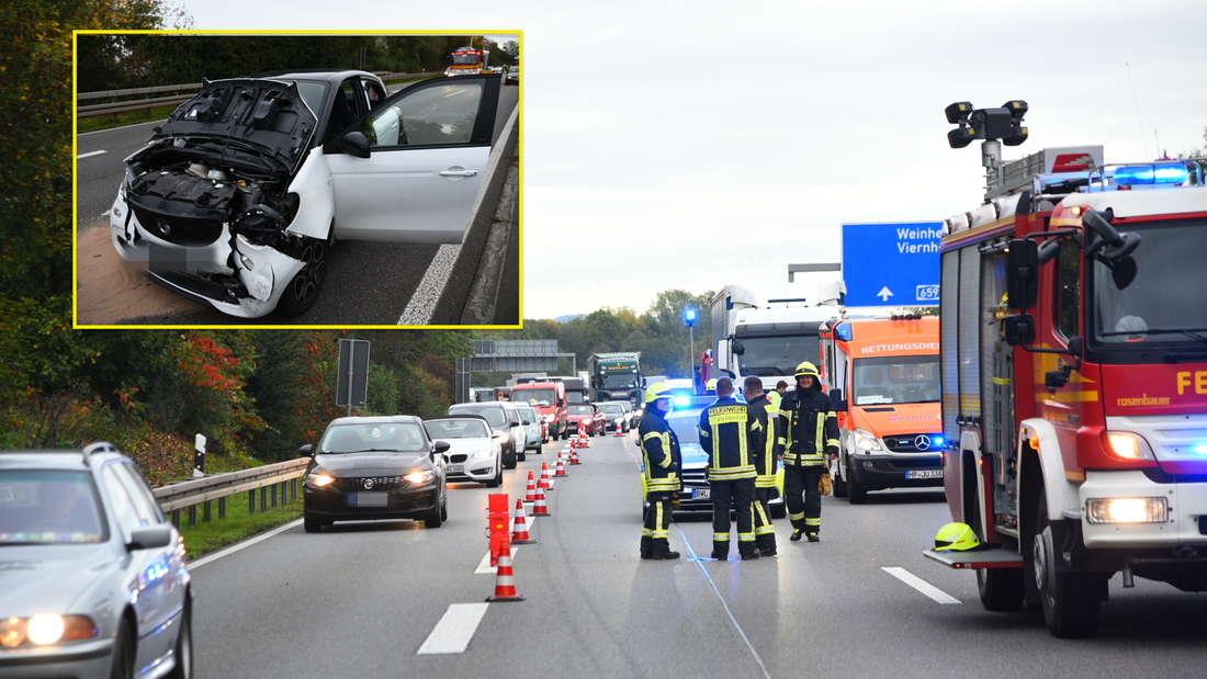 Schwerer Unfall auf A659 sorgt für Stau am Montagmorgen.