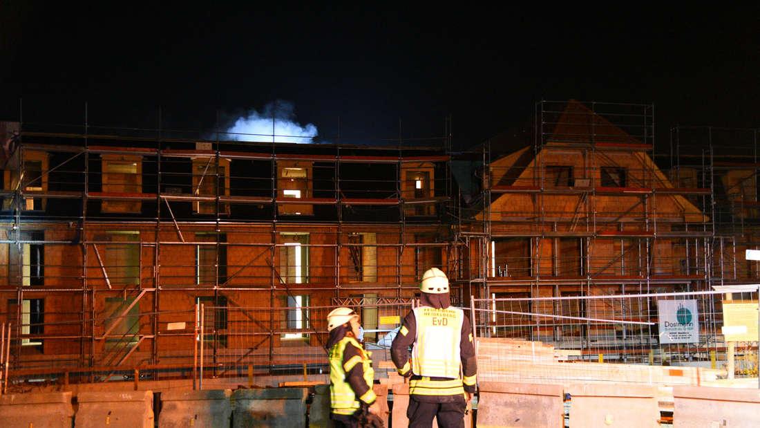Heidelberg: Dachstuhlbrand im Königstuhl-Hotel