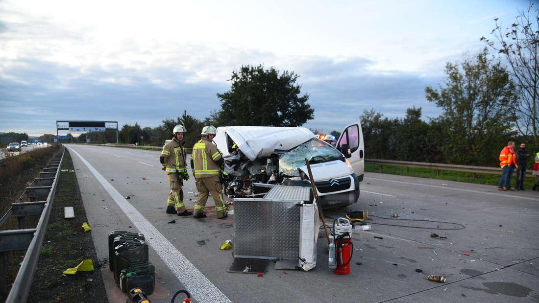 Wieder ereignet sich ein Unfall auf A6.