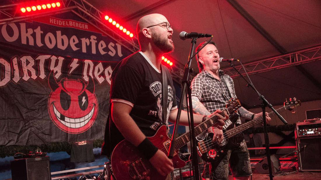 Dirndl, Bier und Rock'n'Roll in Heidelberg – Rocktoberfest auf der Heidelwiesn 2019