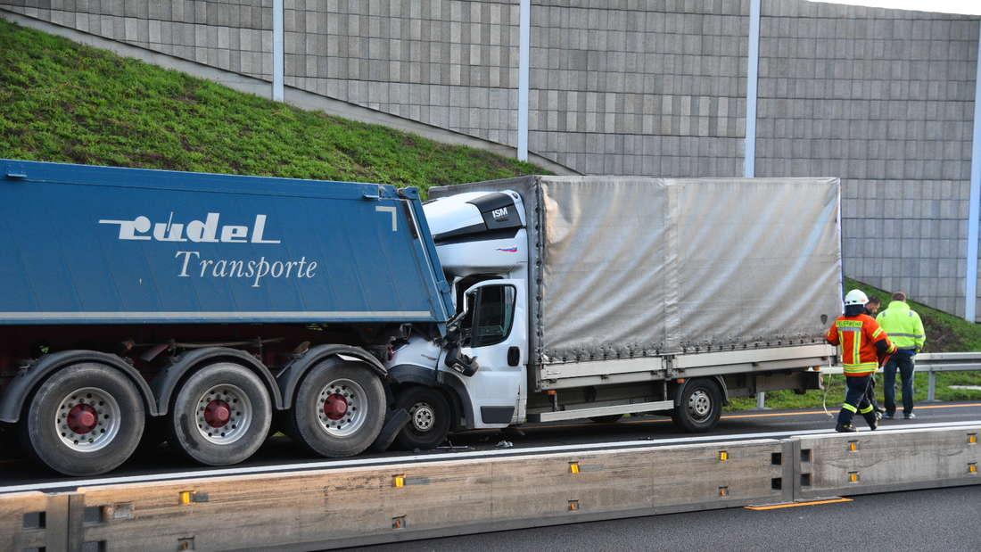 Der Unfall auf der A6.