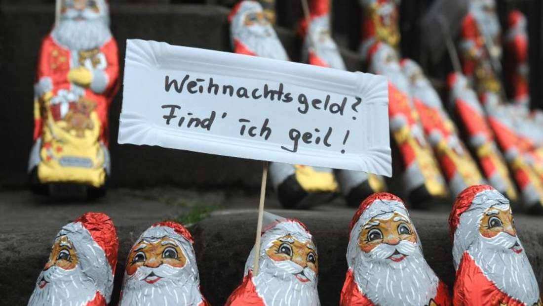 Immer mehr Tarifbeschäftigte in Deutschland erhalten Weihnachtsgeld. Foto: Ingo Wagner/dpa