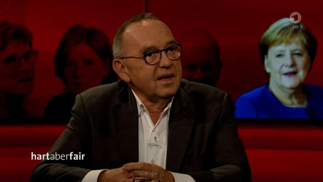 """Norbert Walter-Borjans (SPD) bei""""hart aber fair"""" (ARD)"""