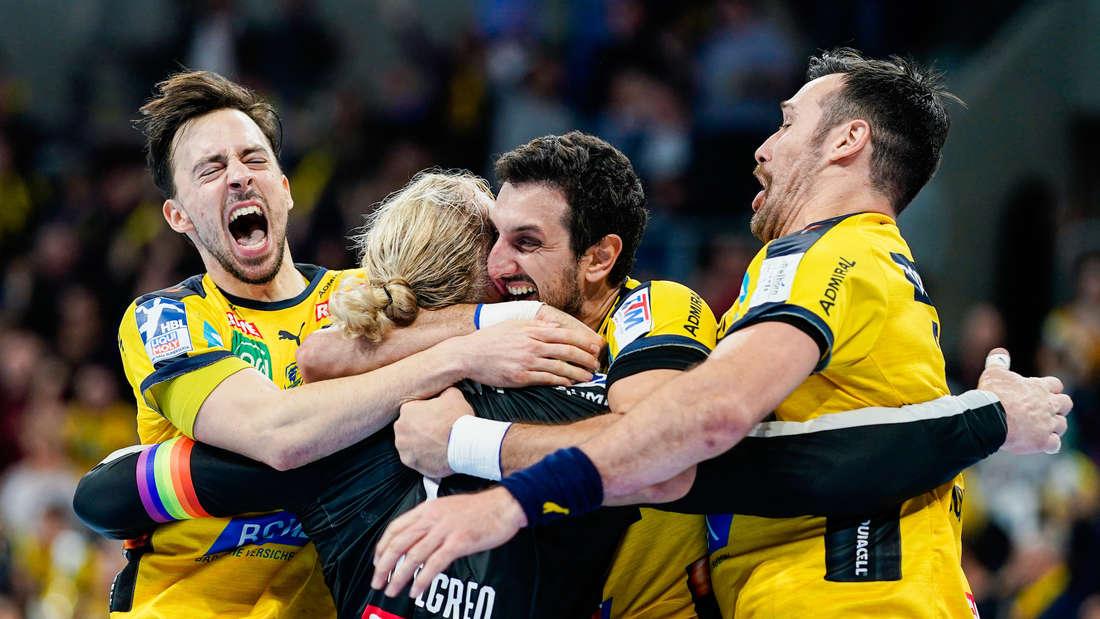 Rhein-Neckar Löwen gewinnen gegen den THW Kiel