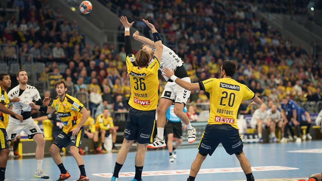 Handball-Bundesliga: Rhein-Neckar Löwen gewinnen gegen THW Kiel.