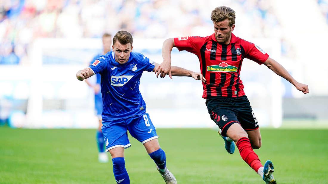 Dennis Geiger (li.) von der TSG Hoffenheim soll beim FC Bayern auf dem Zettel stehen.