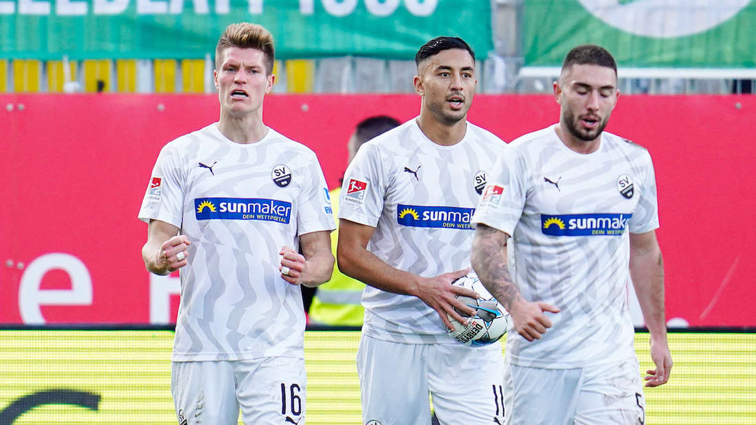 Der SV Sandhausen muss zu Arminia Bielefeld.