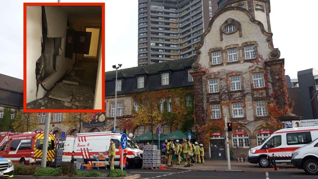 Seit 9:30 Uhr ist der Brand im Hochhaus in Mannheim gelöscht.