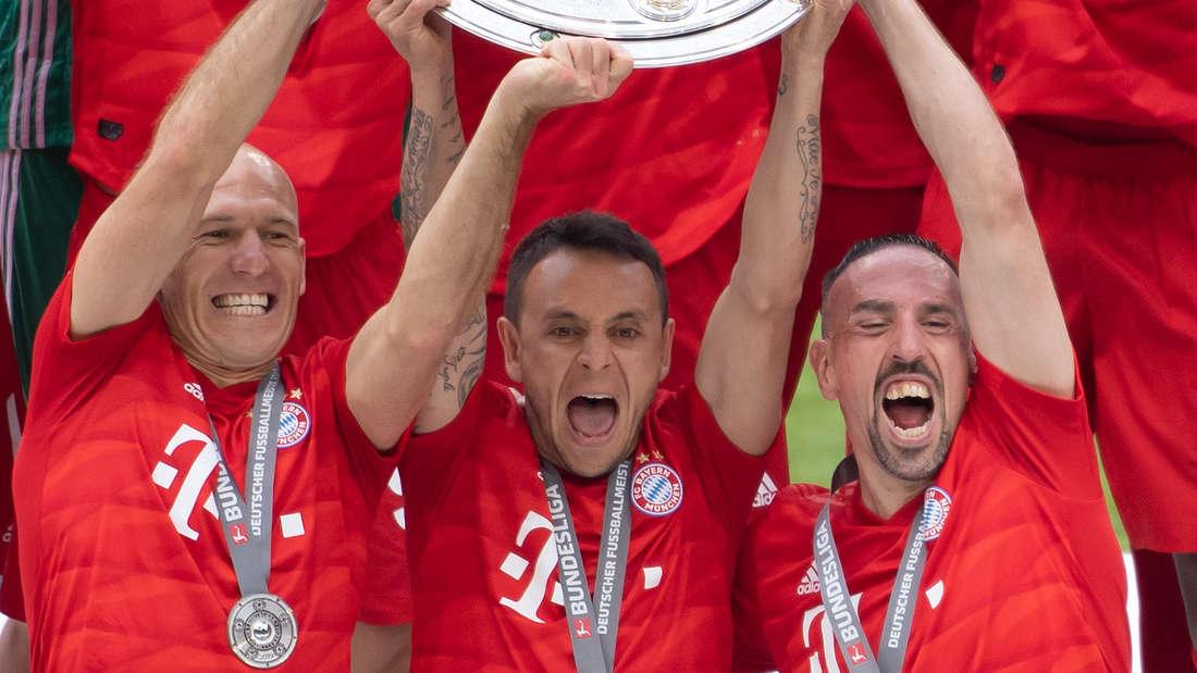 Rafinha: Feierte mit Bayern München unter anderem das Triple.