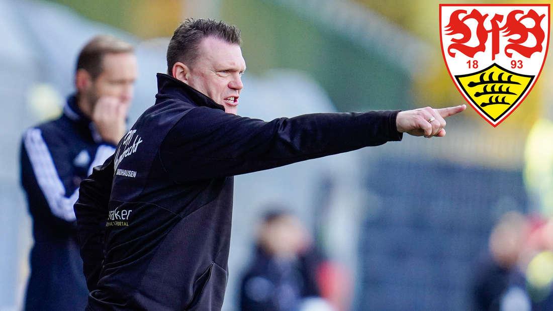 Sandhausen-Trainer Uwe Koschinat will mit dem SVS den VfB Stuttgart ärgern.