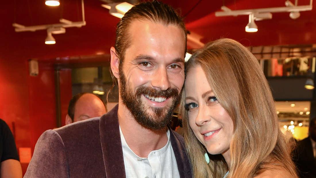 Schauspielerin Jenny Elvers und ihr Ex-Freund Simon Lorinser.
