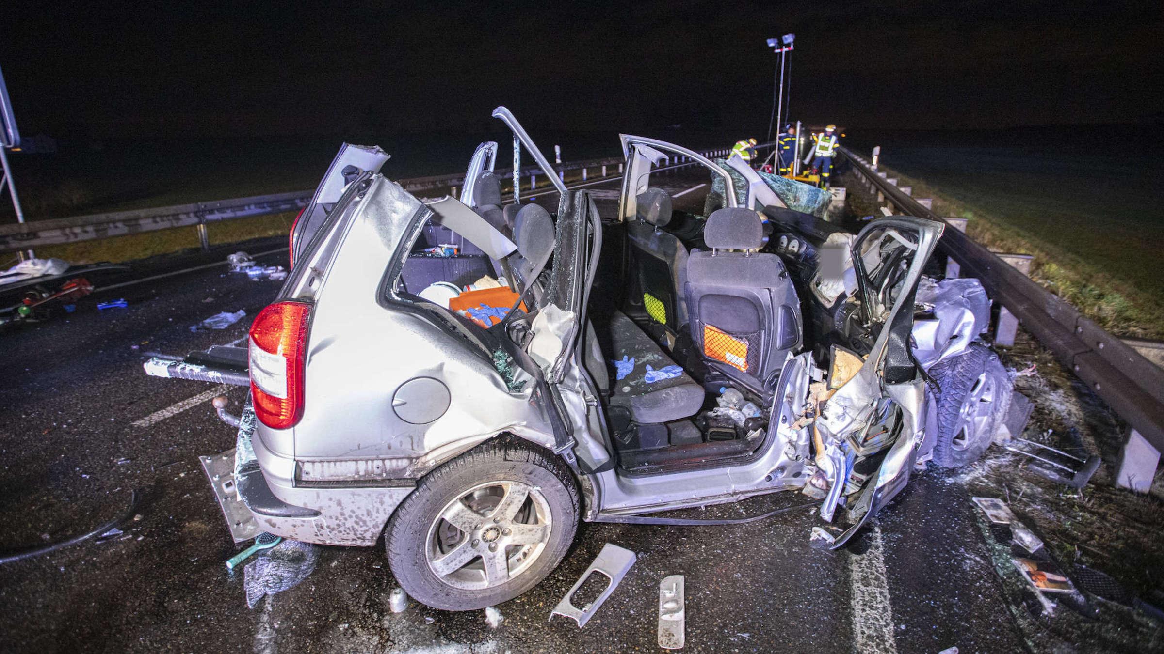 Unfall b464 gestern