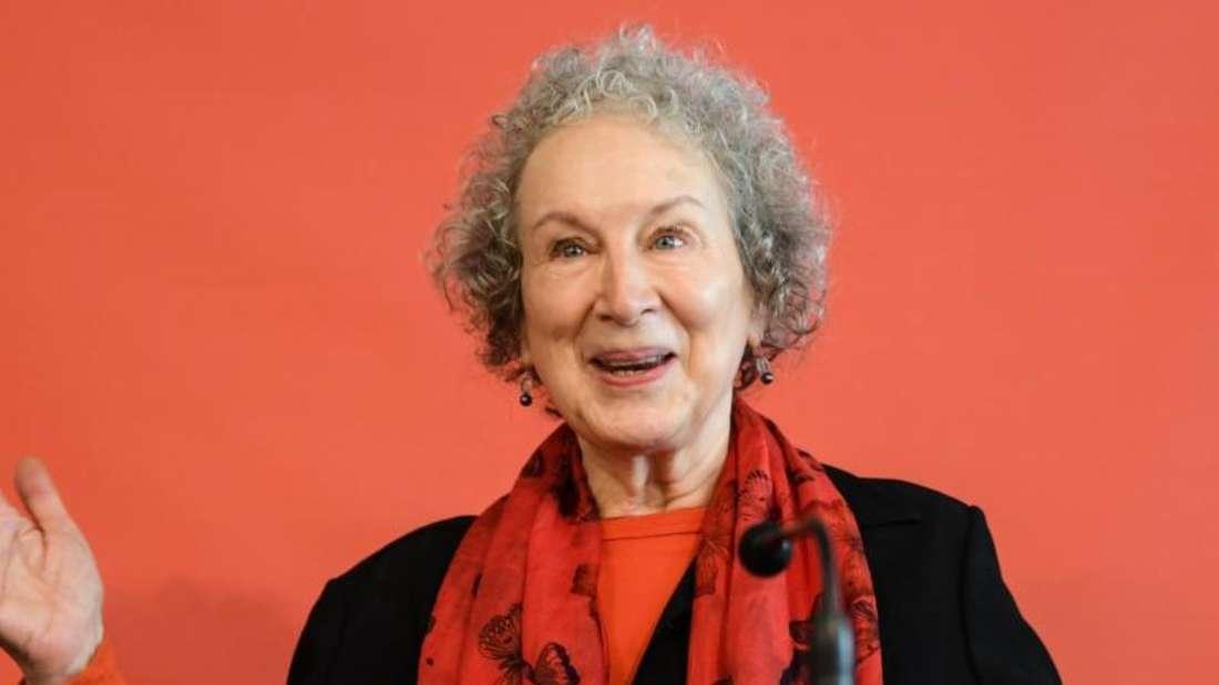 Die kanadische Autorin Margaret Atwood mag nicht als Feministin bezeichnet werden. Foto: Arne Dedert/dpa