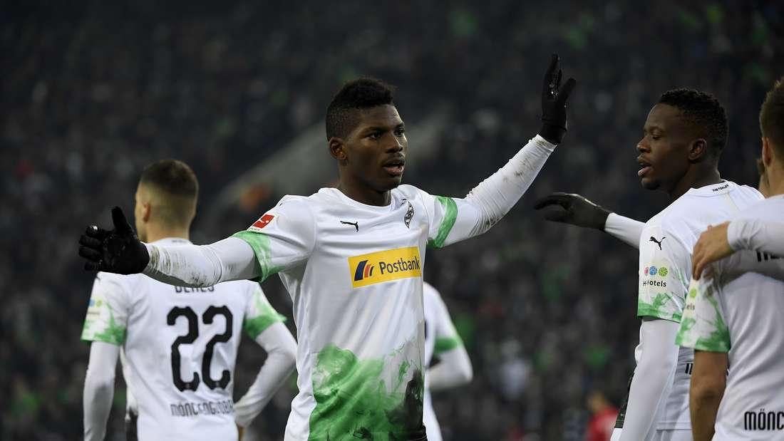 Der ehemalige Schalke-Stürmer Breel Embolo blüht bei Borussia Mönchengladbach auf.