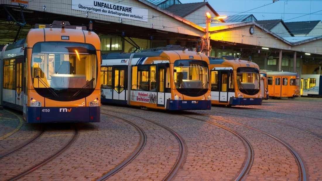 Die Busse und Bahnen der rnv fahren an den Feiertagen zu anderen Zeiten. (Symbolfoto)