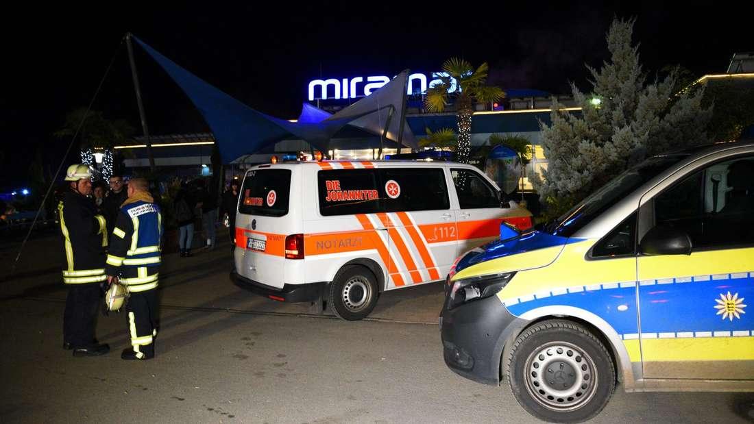 Rund 1.400 Besucher müssen nach einem Vorfall das Miramar verlassen.