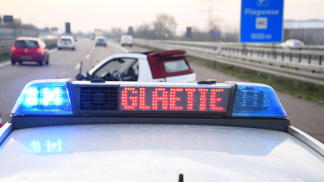 10 Glätteunfälle am Silvestermorgen in der Rhein-Neckar-Region.