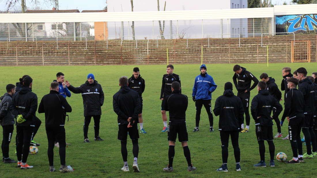 Der SV Waldhof Mannheim hat am Samstag die Vorbereitung auf die restliche Rückrunde begonnen.