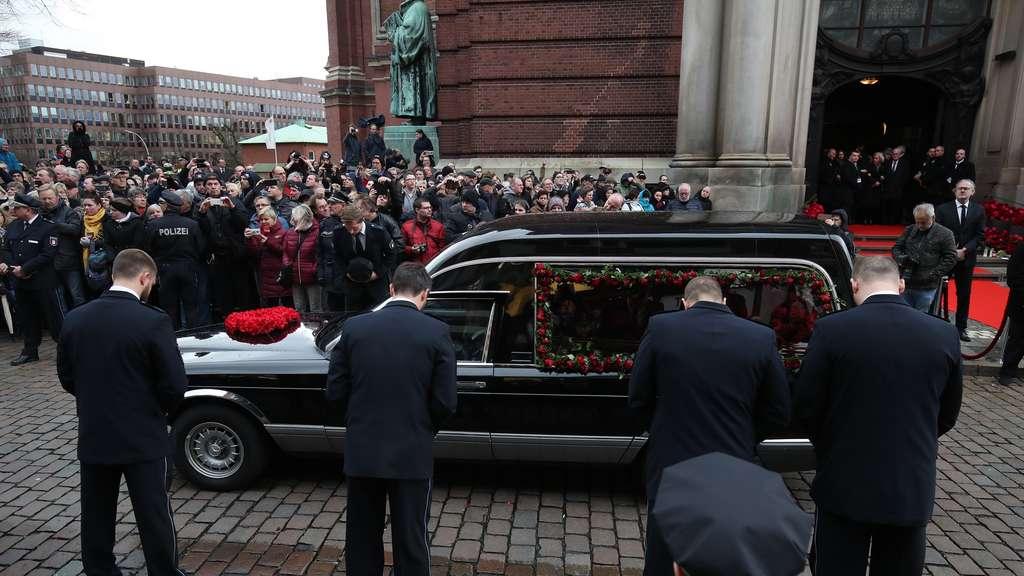 Jan Fedder Beerdigung Hamburg