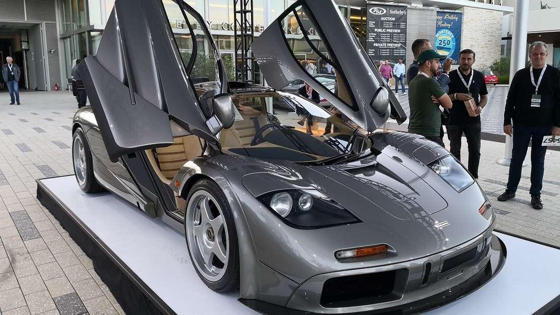 """Den höchsten Preis bei einer Auto-Auktion hat der McLaren F1 """"LM-Spec"""" erzielt."""