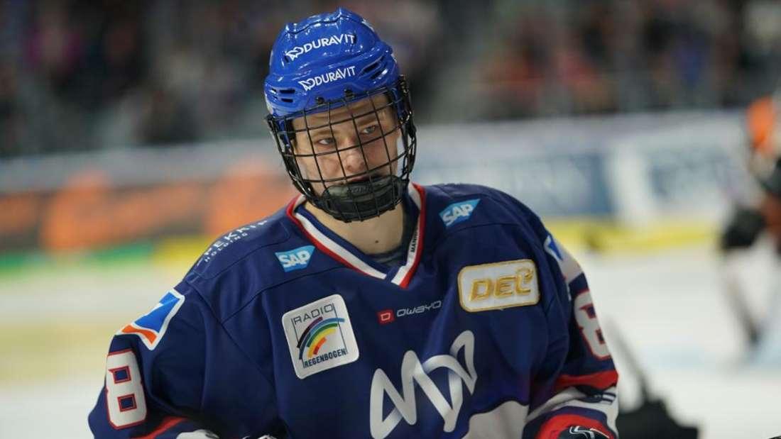 Adler-Verteidiger Tim Stützle wird beim NHL-Draft 2020 als Top-Kandidat gelistet.