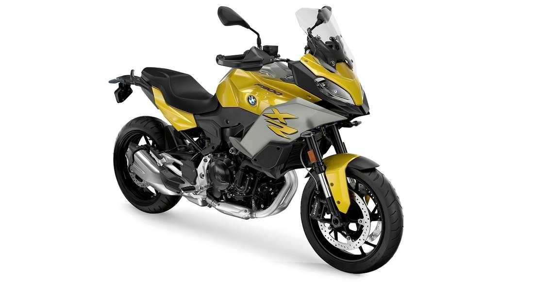 Die die F 900 XR weist einen neuen Zweizylinder-Reihenmotor mit 895 Kubikzentimetern Hubraum und einer Leistung von 77 kW/105 PS auf.
