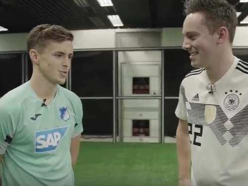 (Video) YouTube-Star misst sich mit Hoffenheim-Profi Baumgartner!