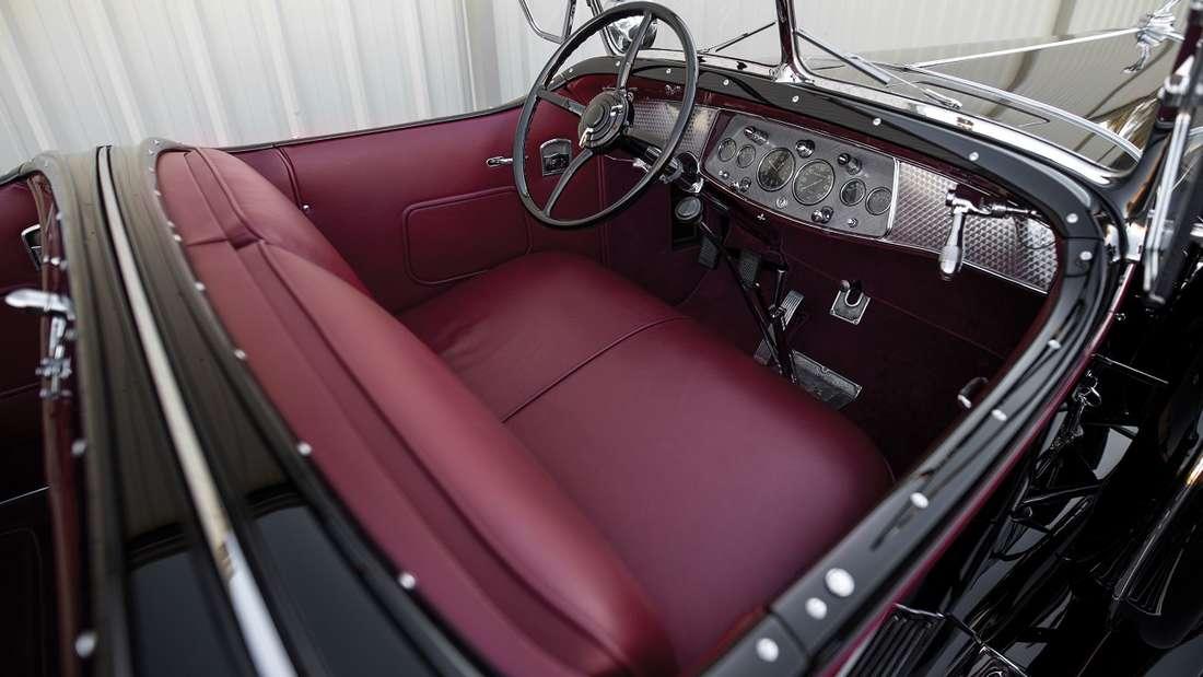 Der Groendyke-Phaeton mit der Seriennummer 47 wurde mehrfach restauriert und befindet sich in einem entsprechend gutem Zustand.