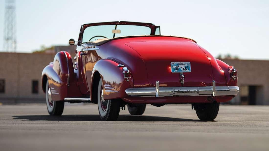 Von diesem Fleetwood-Cabriolet wurden lediglich sieben gebaut, von denen nur noch drei existieren.