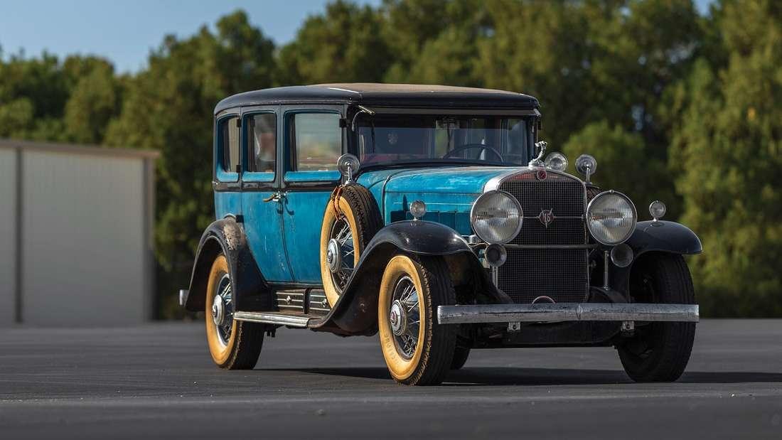 Hingegen weitgehend im Originalzustand ist ein 1931er-V16 mit Namen Blue Boy.