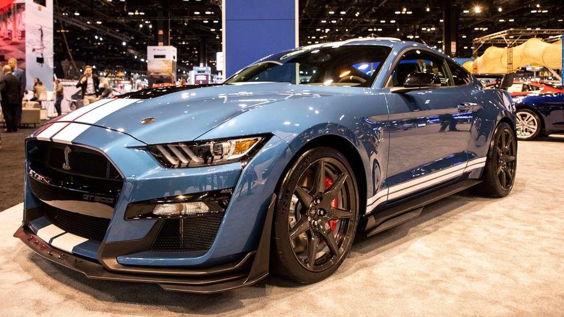 Ein Junge aus den USA crashte den Ford Mustang seines Vaters. Im Bild ist ein Shelby 500 GT zu sehen.