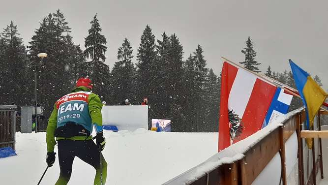 Biathlon-Weltcup in Ruhpolding am 18. Januar