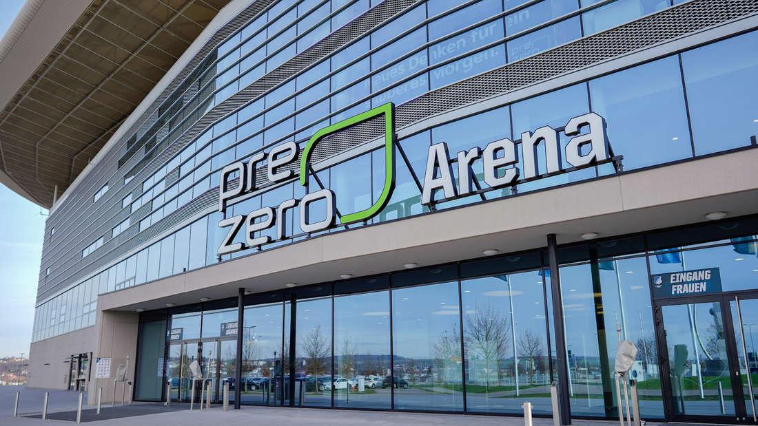 Die TSG Hoffenheim spielt in der PreZero Arena in Sinsheim.
