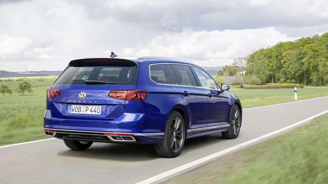 Der VW Passat bietet Fahrkomfort auf höchstem Niveau.