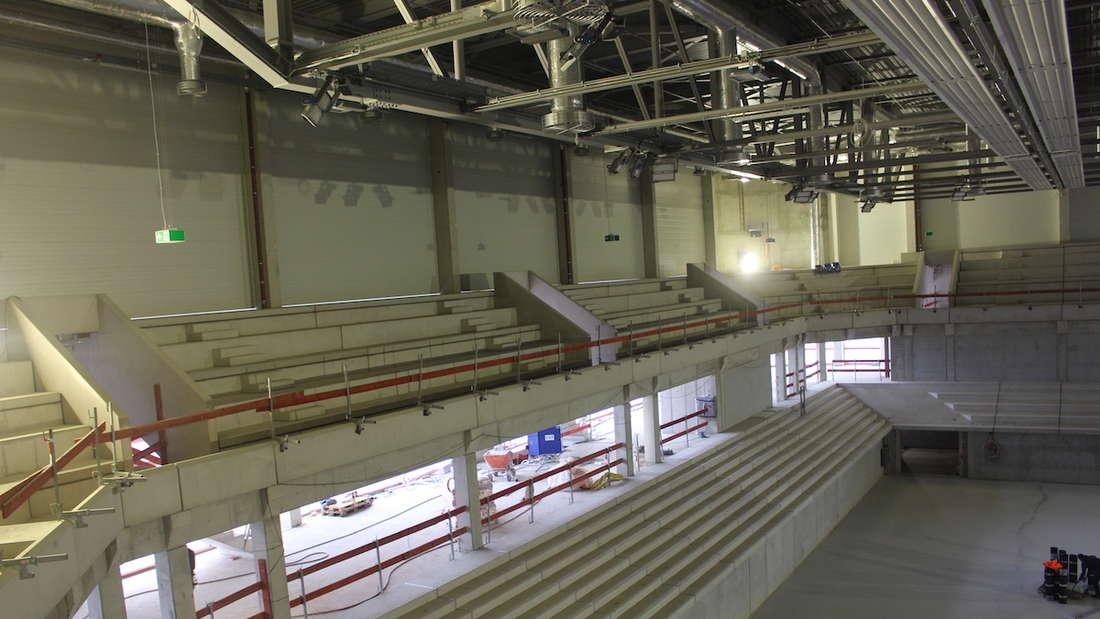 """Die neue Heidelberger Großsporthalle heißt """"SNP dome"""""""